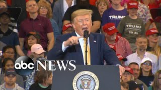 Trump sounds off on impeachment investigation at rally in Louisiana | ABC News
