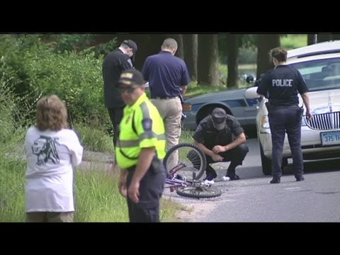 10yr-old bicyclist stable after being struck by car