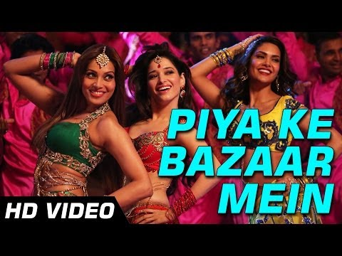 Piya Ke Bazaar Mein | Humshakals Hd Video Song | Saif ,riteish,bipasha,tamannaah,ram Kapoor | 1080p video