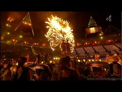 Coldplay - Yellow: The Paralympic Games Closing Ceremony 2012 [HD]