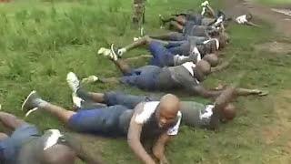 Nigerian Army Recruits on Training