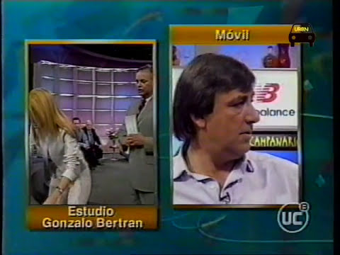 TV 2002: Reencuentro en tv entre Cecilia Bolocco, Kike Morande y Alvaro Salas