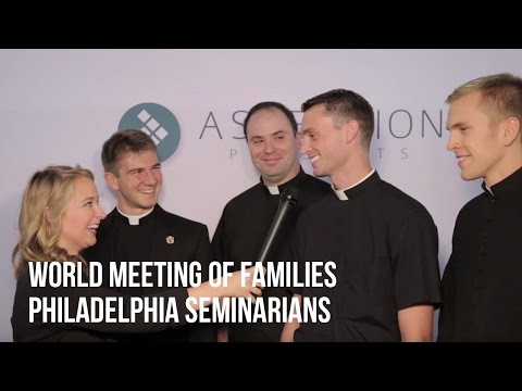 World Meeting of Families - Philadelphia Seminarians