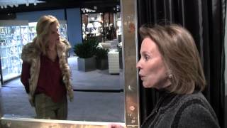 Stylish Shopping with Ellie Cullman at the New York Art, Antique & Jewelry Show