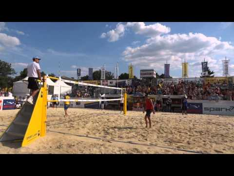 38 point set - Austria vs. Ukraine - CEV Satellite Baden 2012
