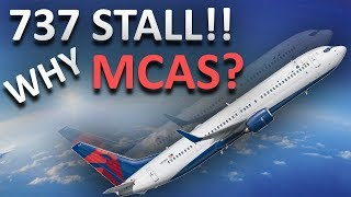 Boeing 737 Stall Escape manoeuvre, why MAX needs MCAS!!