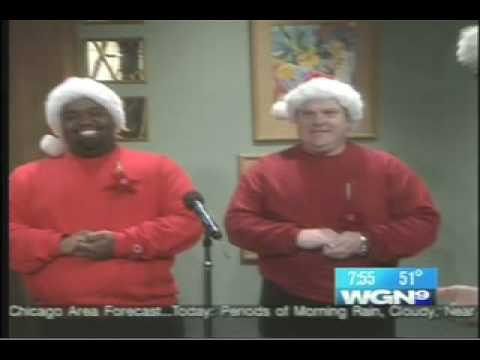 An oldie but a goodie from the boys at WGN Morning News, including producers Mike Toomey and Jeff Hoover, with a unique twist on a Christmas classic. That they still work here is a testament...