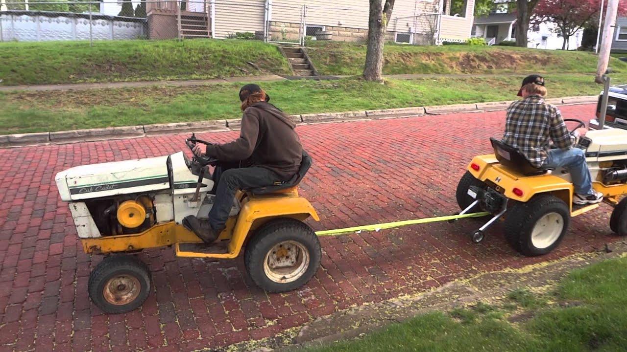 Cub Cadet Pulling Tractors : Cub cadet tractor pull vs hydro youtube