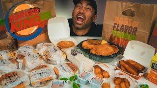 Biggest Burger King Breakfast Challenge EVER...