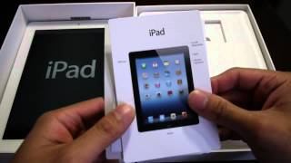 The new Apple iPad 3 unboxing and hands-on