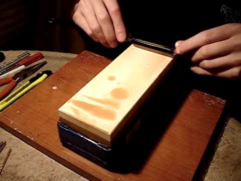 Straight Razor Honing - Part 3: 4000 grit