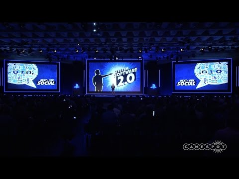 PS4 System Software 2.0 - Sony Press Conference Gamescom 2014