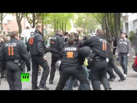 BOTH SIDES RIOT: May 1st. Clashes in Germany, Spain, Columbia Millions took to the streets