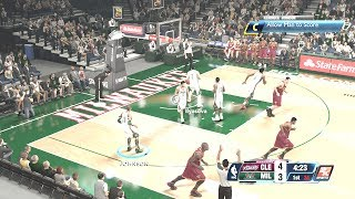 Kendrick Johnson vs the Cavs in the fifth to last game of season