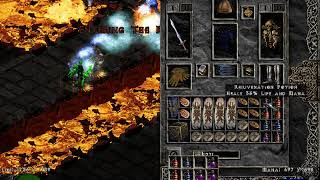 Diablo 2: Finding 2 LoH gloves in 1 minute