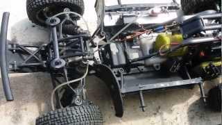 HPI Baja 5sc hydraulic front brake system