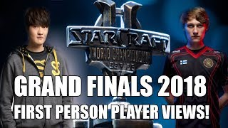 Starcraft 2 WCS Grand Finals Blizzcon 2018! Serral (Zerg) vs Stats (Protoss) - First Person View