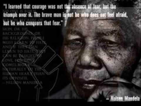 My african dream,in memory of nelson mandela