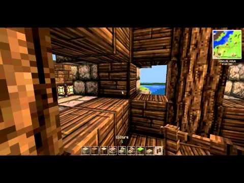 tuto minecraft construire une vraie petite maison m di vale youtube. Black Bedroom Furniture Sets. Home Design Ideas