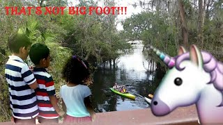 Kids finding bigfoot/that don't look like big foot. part 2