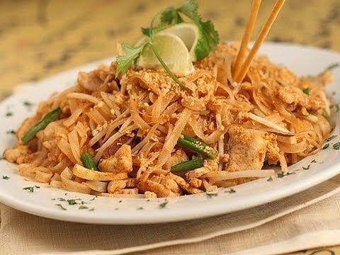 Pad Thai / comida tailandesa / receta de Pad Thai comida tailandesa