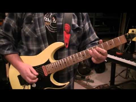 How to play Feed My Frankenstein by Alice Cooper on guitar by Mike Gross