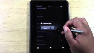 Kindle Fire HD: How to Clear Your Web History​​​ | H2TechVideos​​​