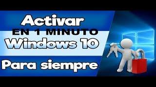 Como ACTIVAR Windows 10 | CUALQUIER VERSION 2017 PARA SIEMPRE ( LICENCIA ORIGINA) 32 y 64 bits