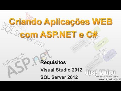 Criando Aplicações WEB com ASP.NET e C# - Introdução Aula   1