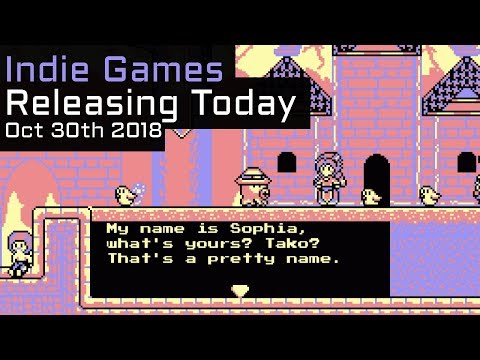 Top 6 New Indie Games Releasing Today - October 30th 2018