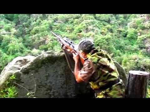 Lov jelena - Nový zéland