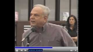Superintendent goes crazy at Board of Ed Meeting in Monroe Twp. NJ title=