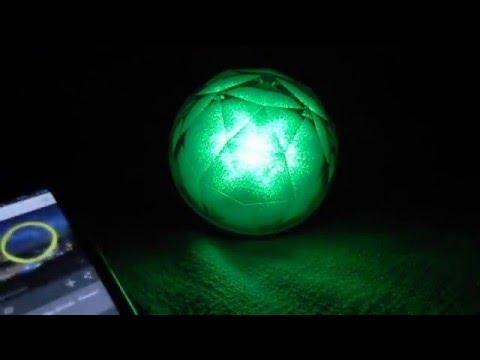 Led Relax Entspannung Ball Farbspiel Regenbogen Farben Bluetooth Lautsprecher Mp3 Player