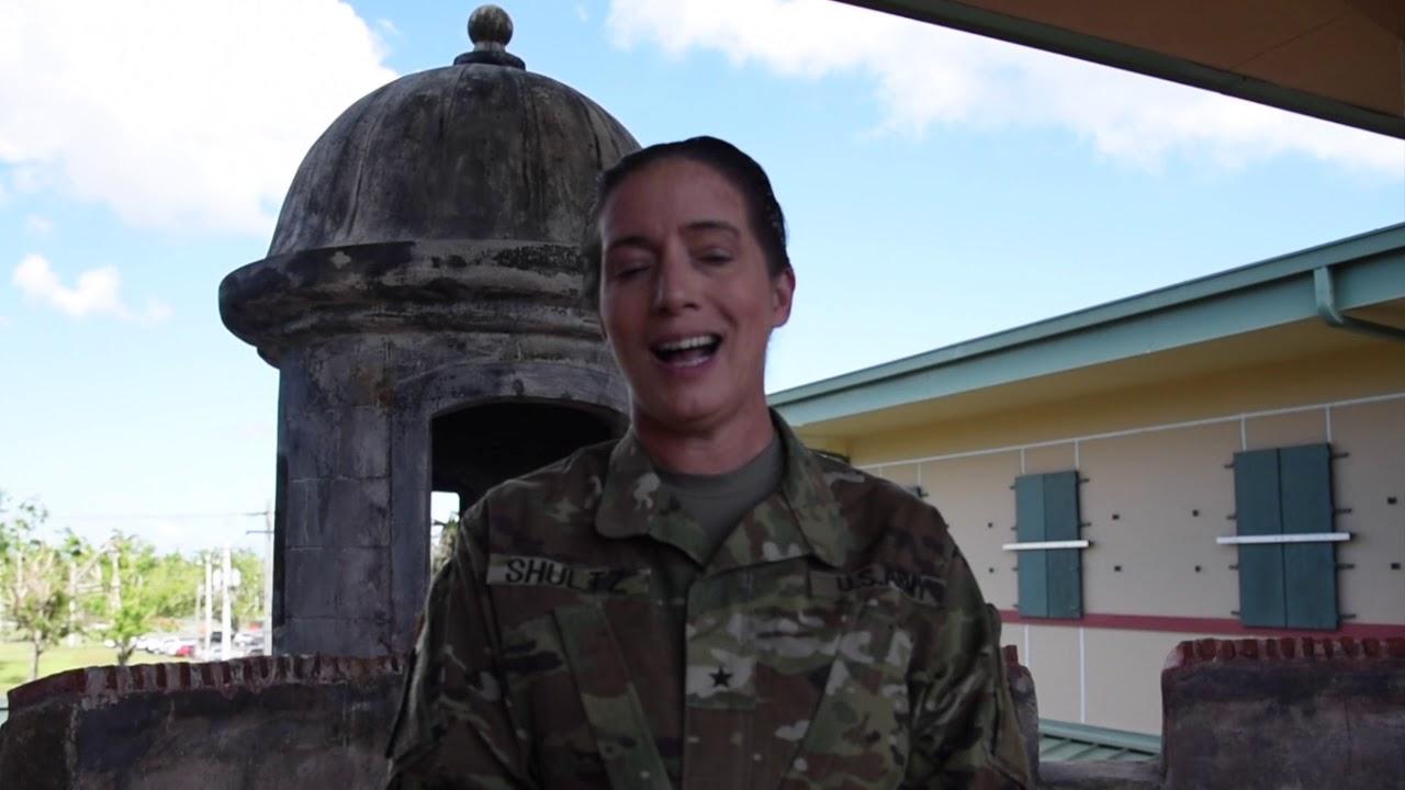 Mensaje de la BG Dustin Shultz para el Dia del Veterano