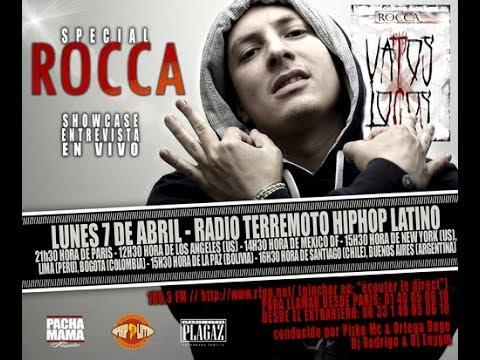 RADIO TERREMOTO HIPHOP LATINO - INVITADO: ROCCA 07.04.2014