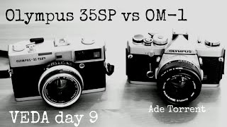 Olympus 35SP vs OM-1 Runners Up Battle | VEDA Day 9