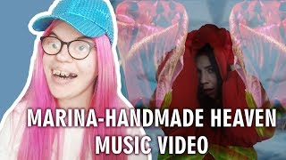 Marina Handmade Heaven Music Audio Reaction Sisley Reacts