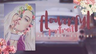 HAZ EL EFECTO FLOWERFUL PORTRAIT EN PHOTOSHOP