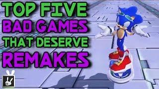 Top Five Bad Games That Deserve Remakes
