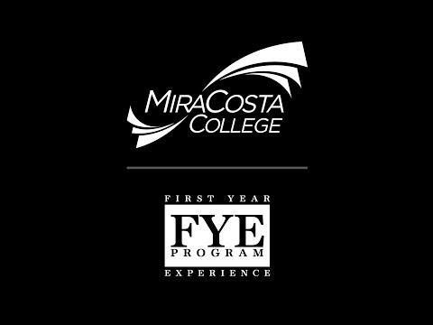 MiraCosta College's FYE Program