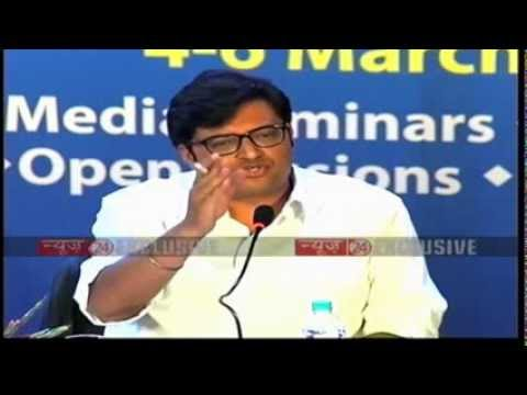 Arnab Goswami takes on Ashutosh and AAP