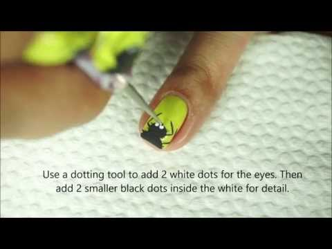 Itsy Bitsy and Hairy Spiders Nail Art Tutorial