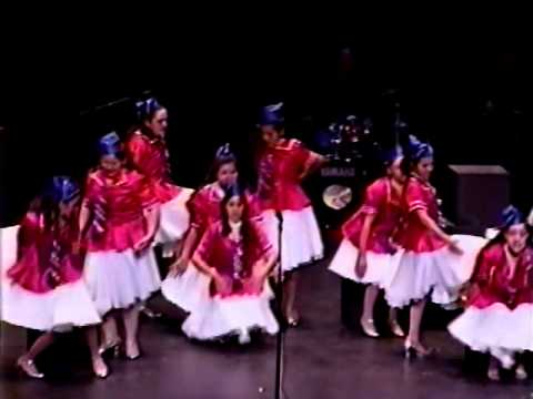 Boogie Woogie Bugle Boy - El Rancho High School Song and Dance 1997