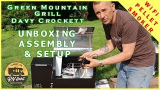 Green Mountain Grill Davy Crockett - Best Portable and WiFi GMG Pellet Smoker - Unboxing - Review