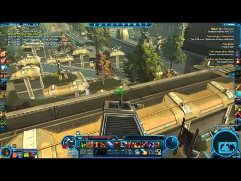 SWTOR Datacrons of Corellia Empire A Guide by Degren of Friends and Pals HD