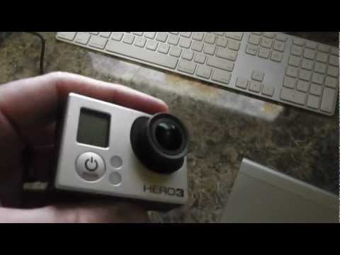 GoPro HD Hero 3 Black Edition Locks Up When USB Cable is Connected