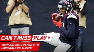 DeAndre Hopkins Beats Patrick Peterson 3 Times on Huge TD Drive! | Can't-Miss Play | NFL Wk 11