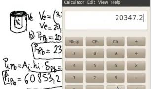 matematica cilindro volumen densidad
