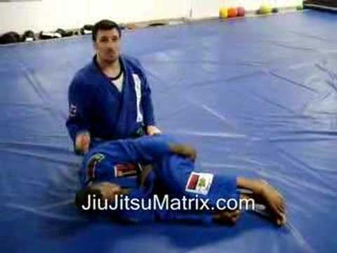 Advanced Brazilian Jiu-Jitsu Matrix Moves: Spider Guard Pass / Single Leg Takedown Defense Image 1