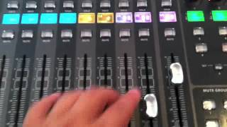 Behringer x32 Tutorial - Linking Channels and Bus
